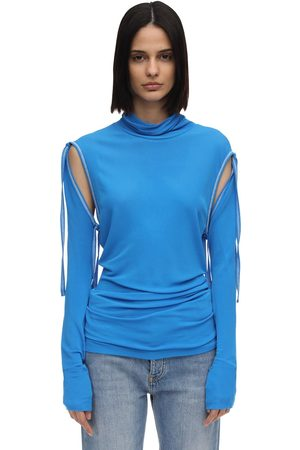 Atlein Lvr Exclusive Top W/ Detachable Sleeves