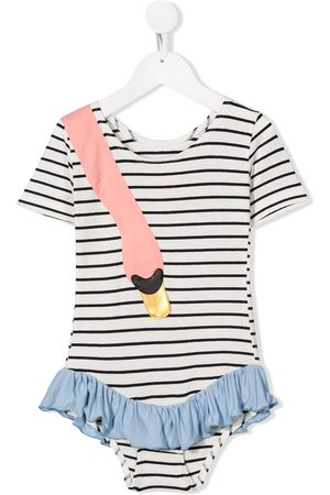 Wauw Capow by Bangbang Ebba striped gymsuit