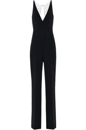 Stella McCartney Embellished stretch-crêpe jumpsuit