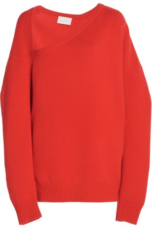 Christopher Kane Open-Neck Wool and Cashmere Sweater