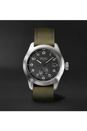 Bremont Broadsword Automatic Chronometer 40mm Stainless Steel And Sailcloth Watch