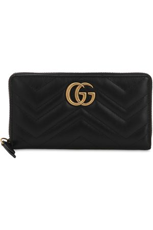 Gucci Women Wallets - Gg Marmont Quilted Leather Wallet
