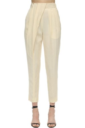 Proenza Schouler High Waist Light Viscose Slim Pants