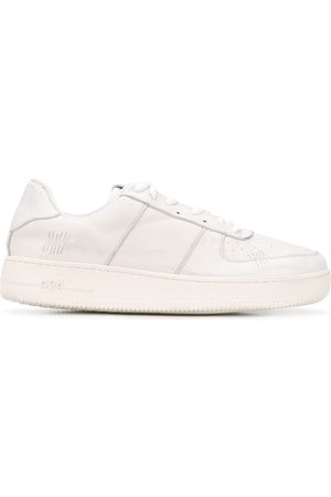 424 FAIRFAX Low top stitch detail sneakers