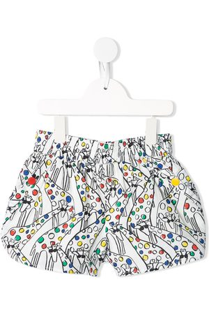 Stella McCartney Giraffe-print shorts