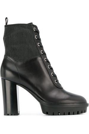 Gianvito Rossi Women Lace-up Boots - Lace-up platform boots