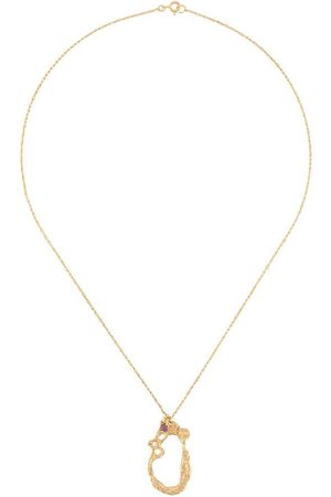 Lee Pelecy abstract-pendant necklace