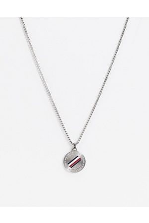 Tommy Hilfiger Neckchain in with circular dog tag