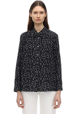 A.P.C Sutton Printed Silk Crepe De Chine Shirt