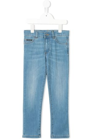 Dolce & Gabbana Five pocket design denim trousers