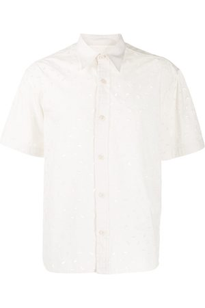 Ami Embroidered short-sleeve shirt