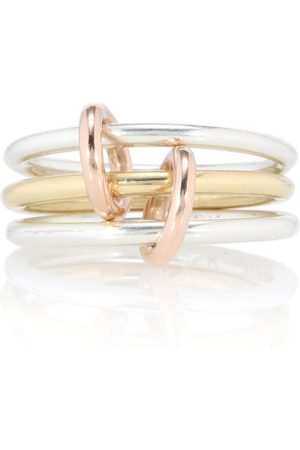 SPINELLI KILCOLLIN Solarium 18kt gold and sterling ring
