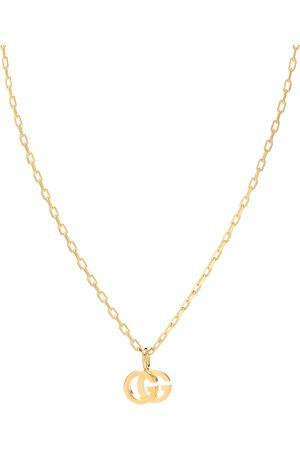 Gucci Double G 18kt and topaz necklace