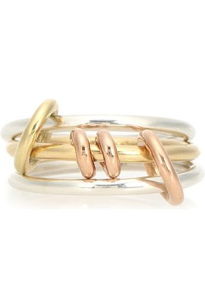 SPINELLI KILCOLLIN Acacia 18kt and sterling silver linked rings