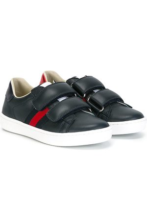 Gucci Girls Sneakers - Children's leather sneaker with Web