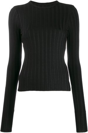 SIMON MILLER Long-sleeve fitted sweater