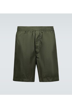 Moncler Bermuda technical fabric shorts
