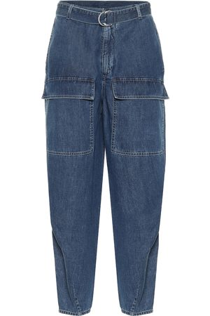 Stella McCartney High-rise tapered jeans