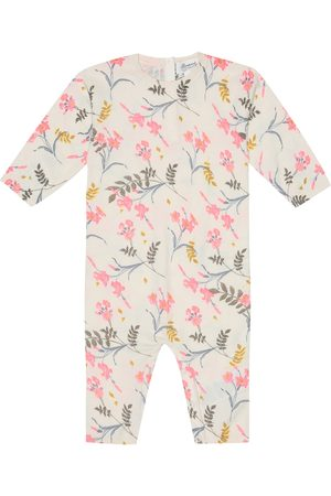 BONPOINT Rompers - Baby floral cotton onesie
