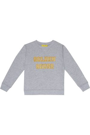 Golden Goose Logo cotton-jersey sweatshirt