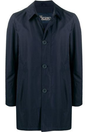 HERNO Buttoned parka coat