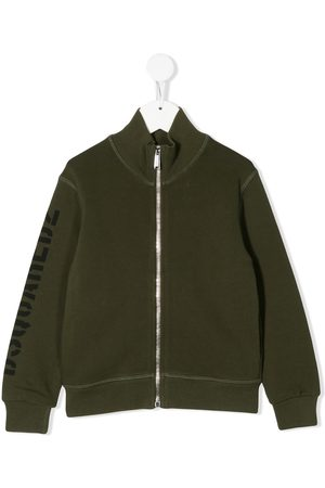 Dsquared2 Logo-print zipped track jacket