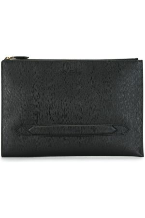 Salvatore Ferragamo Textured clutch