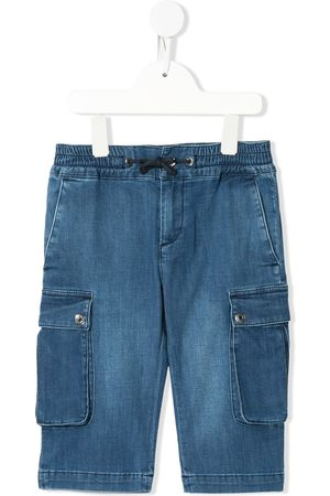 Dolce & Gabbana Multi pocket denim shorts