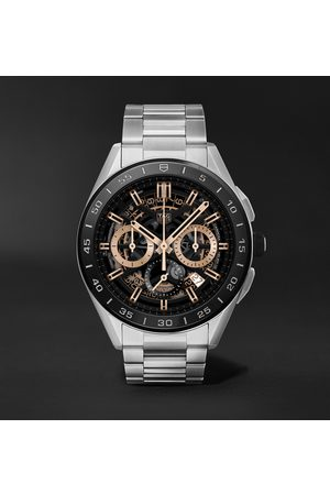 Tag Heuer Connected Modular 45mm Steel and Rubber Smart Watch, Ref. No. SBG8A10.BA0646