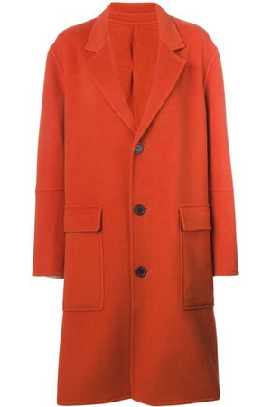 Ami Three buttons patch pocket unlined coat
