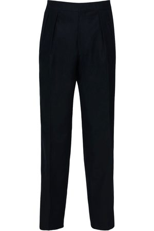 The Row 20cm Mark Brushed Cotton Pants