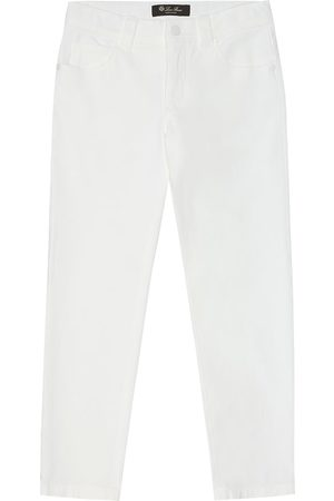 Loro Piana Stretch-cotton gabardine pants