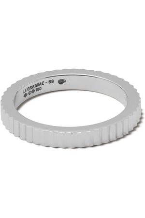 Le Gramme 18kt 5g Vertical Guilloche ring