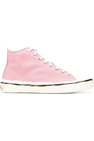 Marni High top canvas sneakers