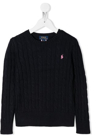 Ralph Lauren Cable-knit logo jumper