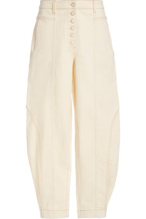 ULLA JOHNSON Brodie Cropped Jeans