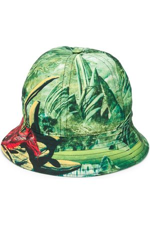 VALENTINO Dragon print bucket hat