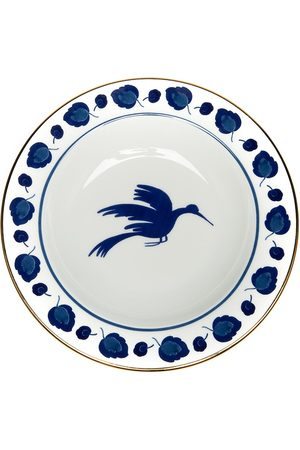 La DoubleJ Wildbird soup dish and dinner plate (set of 2)