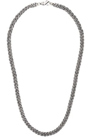 EMANUELE BICOCCHI Diamond cut braided necklace