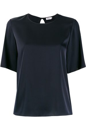 Filippa K Relaxed short-sleeve blouse