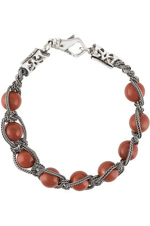 EMANUELE BICOCCHI Beaded braided-chain bracelet