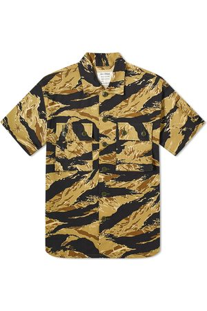 The Real McCoys The Real McCoy's Tiger Camouflage Shirt