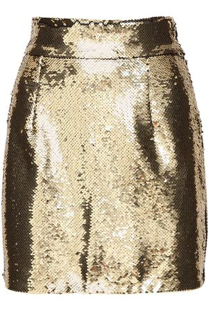 AMEN Sequined Mini Skirt