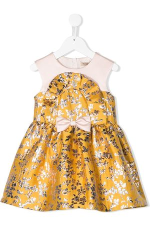 HUCKLEBONES LONDON Ruffle Bib Bodice Dress