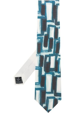 Gianfranco Ferré 1990s abstract print neck tie