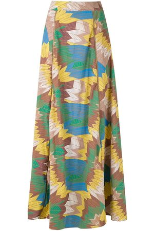AMIR SLAMA High-waisted maxi skirt