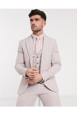 River Island Skinny suit jacket in light