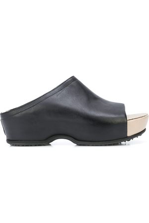 ROSETTA GETTY Open-toe platoform clogs
