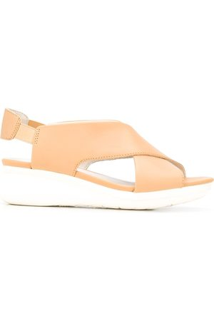 Camper Platform wedge sandals