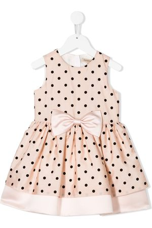 HUCKLEBONES LONDON Polka-dot a-line dress